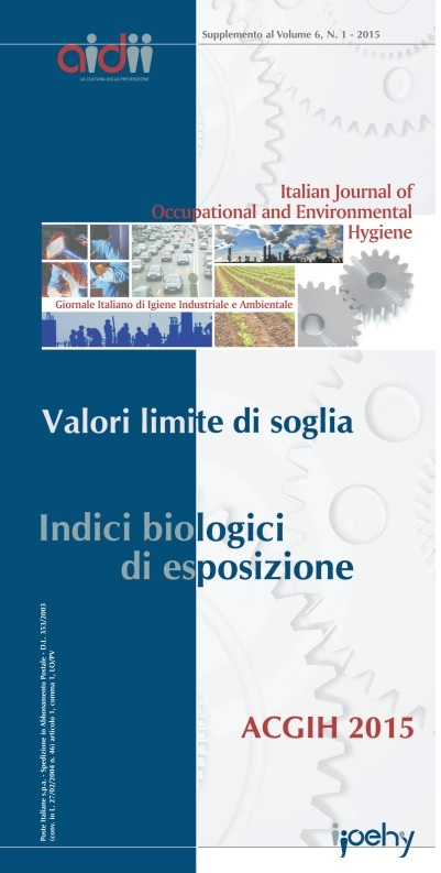 View Vol. 6 (2015): Supplement to N.1