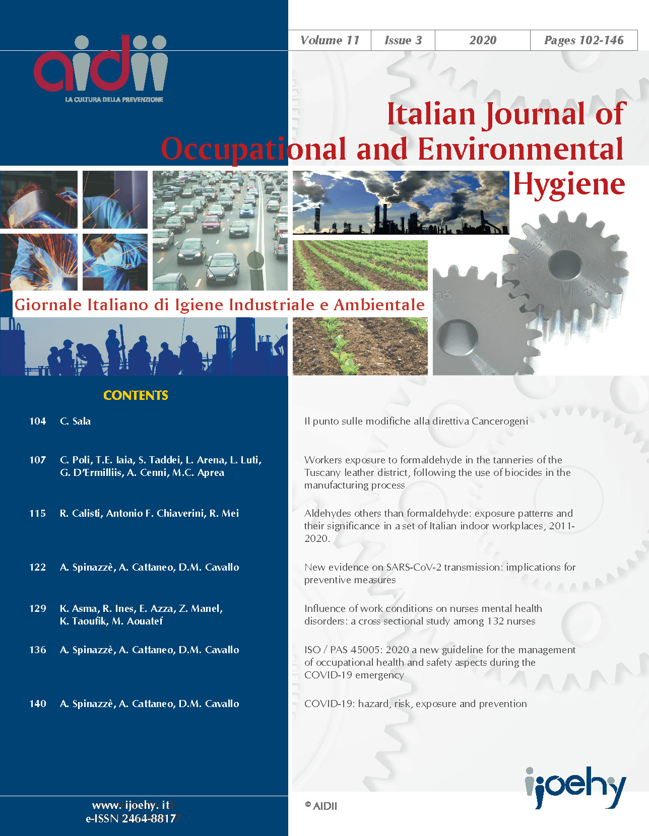 View Vol. 11 No. 3 (2020): pages 102-146